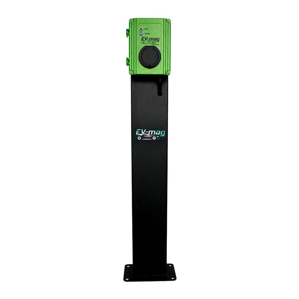 Statie fixa incarcare masini electrice EV-MAG GS103T2GOS-N, 3.6 kW, type 2, monofazat, montaj pe stativ imagine spy-shop.ro 2021