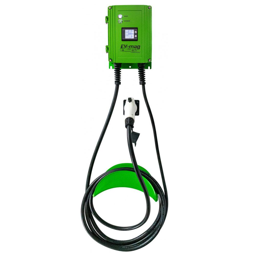 Statie fixa cu ecran pentru incarcare masini electrice EV-MAG GS107T1GC-D, 7 kW, type 1, monofazat imagine spy-shop.ro 2021