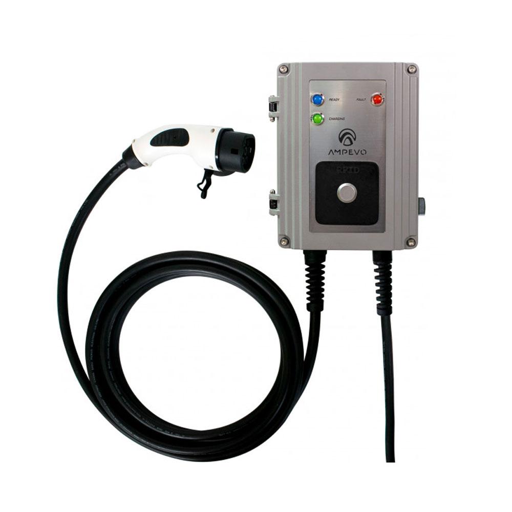 Statie fixa incarcare masini electrice EV-MAG GS107T2GC-CP, 7 kW, Type 2, monofazat, comutator de putere imagine spy-shop.ro 2021