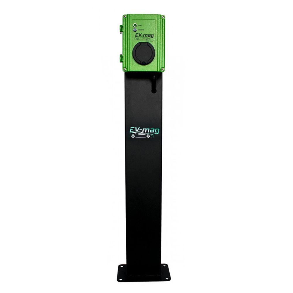 Statie fixa incarcare masini electrice EV-MAG GS311T2GOS, 11 kW, type 2, trifazat, montaj pe stativ imagine spy-shop.ro 2021