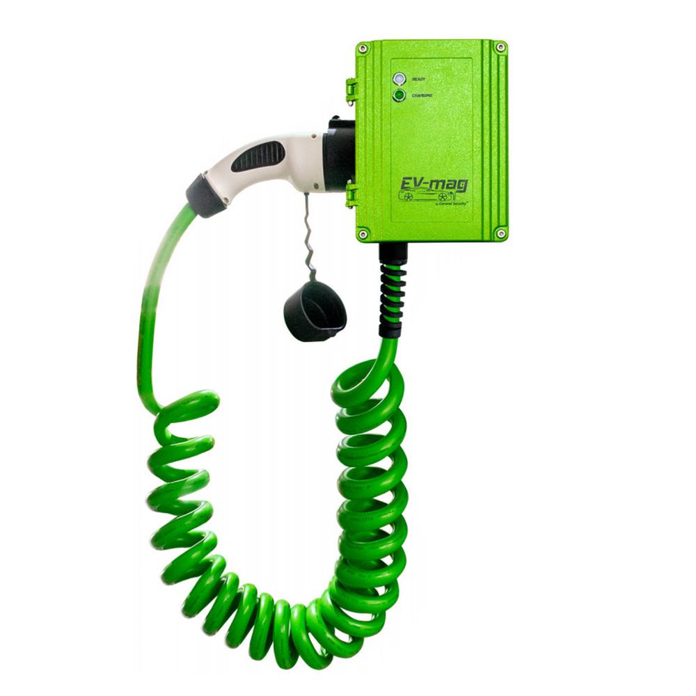 Statie fixa incarcare masini electrice EV-MAG GS322T2GC-SVN, 22 kW, Type 2, trifazat