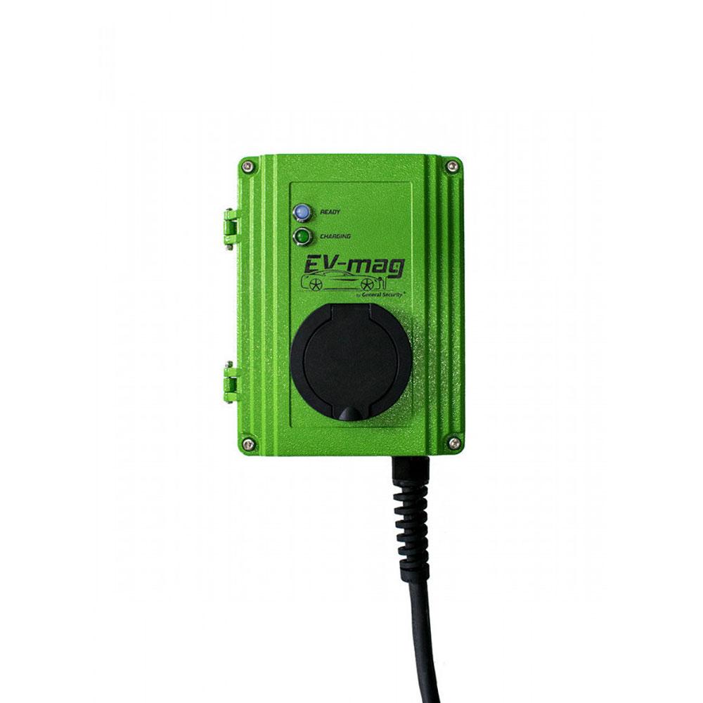 Statie incarcare masini electrice EV-MAG GS107T2GO-N, 7 kW, type 2, monofazat imagine spy-shop.ro 2021