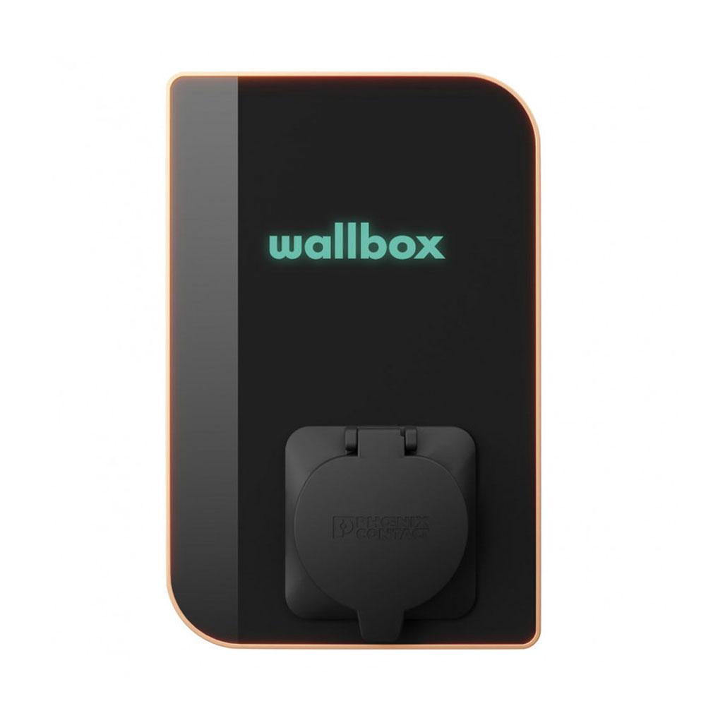 Statie incarcare masini electrice WiFi EV-MAG WALLBOX COPPER, bluetooth, RFID/NFC, LTE 1, 22 kW, Type 2, trifazat, control de pe telefon imagine spy-shop.ro 2021