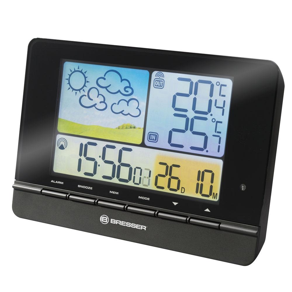 Statie meteo Bresser 7007310CM3000, termometru, higrometru, alarma