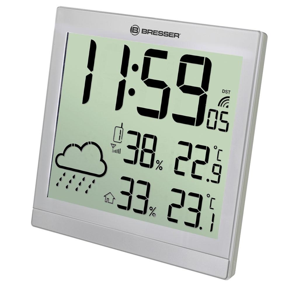 Statie meteo Bresser JC 7004404HZI000, termometru, higrometru, alarma imagine spy-shop.ro 2021
