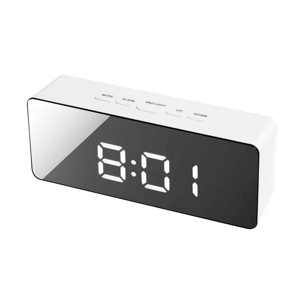Statie meteo Bresser MyTime Echo 8010070, termometru, alarma imagine spy-shop.ro 2021
