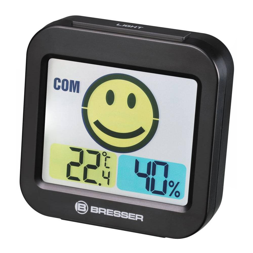 Statie meteo Bresser Temeo Smile 7007450CM3000, termometru, higrometru imagine spy-shop.ro 2021