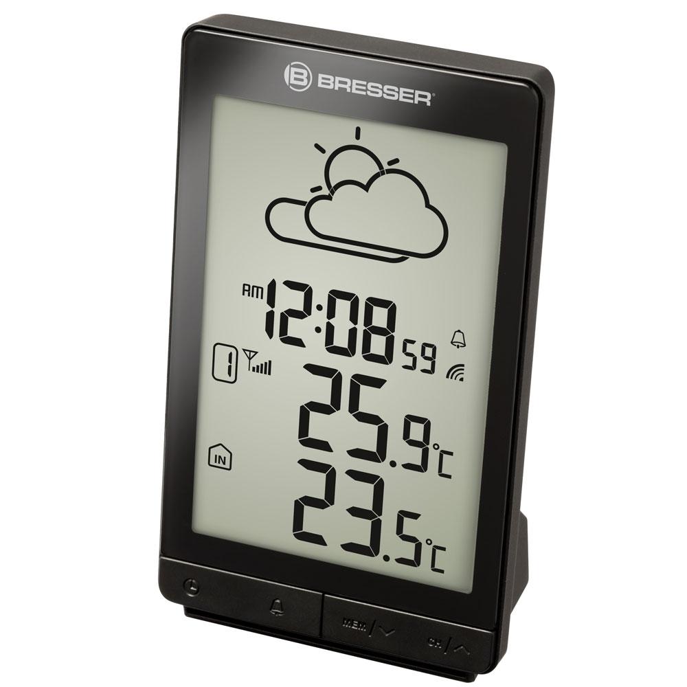 Statie meteo Bresser TemeoTrend STX RC 7004501CM3000, termometru, alarma imagine spy-shop.ro 2021