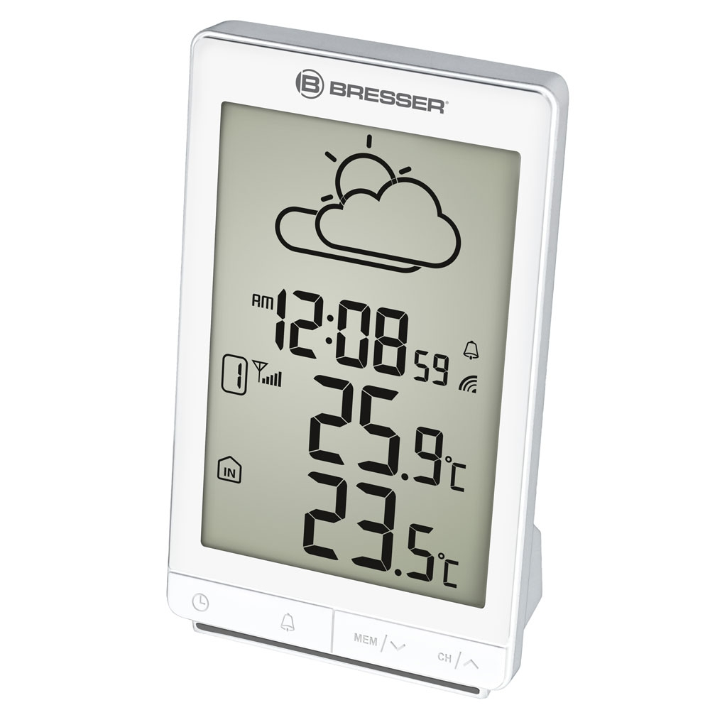 Statie meteo Bresser TemeoTrend STX RC 7004501GYE000, termometru, alarma