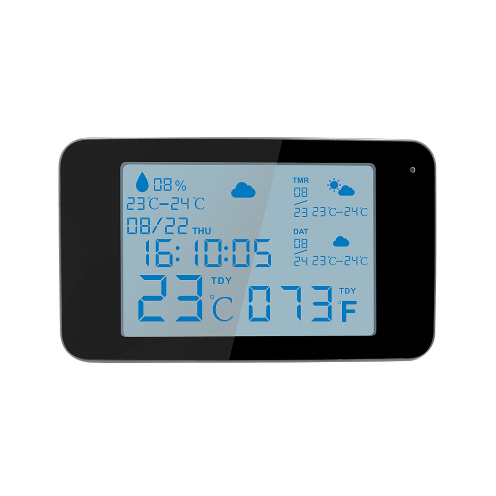 Statie meteo cu camera de supraveghere Aishine AI-WS06, 1 MP, WiFi imagine spy-shop.ro 2021