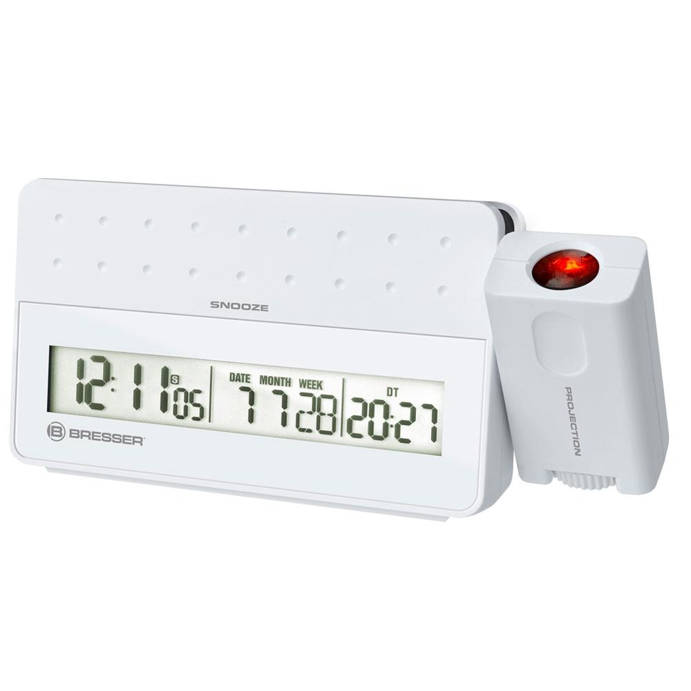 Statie meteo cu proiector Bresser MyTime 8010031, termometru, alarma