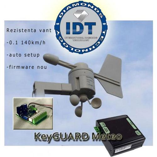 Statie meteo IDT, termometru, anemometru imagine spy-shop.ro 2021