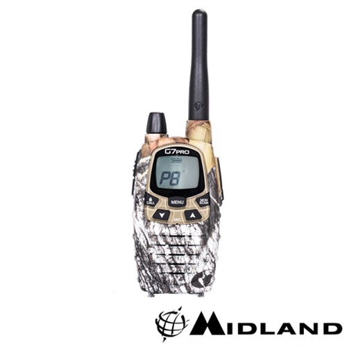 STATIE RADIO PMT/LPD PORTABILA MIDLAND G7 PRO SINGLE MIMETIC 2017