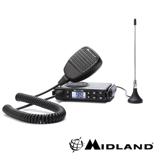 STATIE RADIO PMR MOBILA MIDLAND GB1 CU ANTENA MAGNETICA