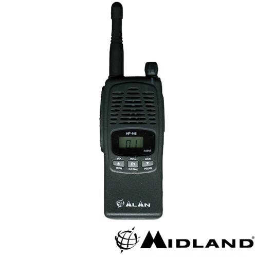 STATIE RADIO PMR MIDLAND ALAN HP446 EXTRA
