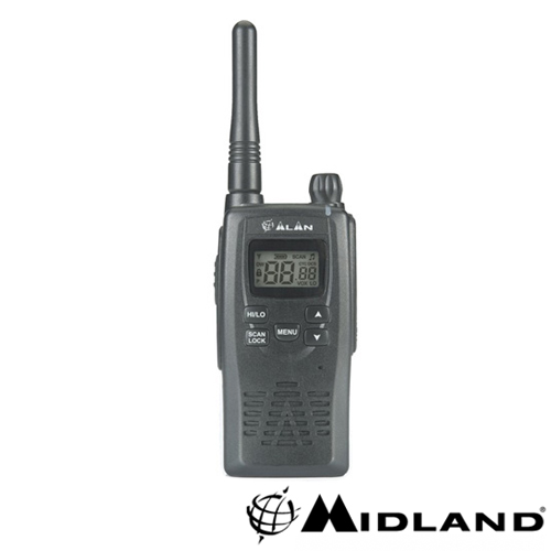 STATIE RADIO PMR MIDLAND ALAN HP450