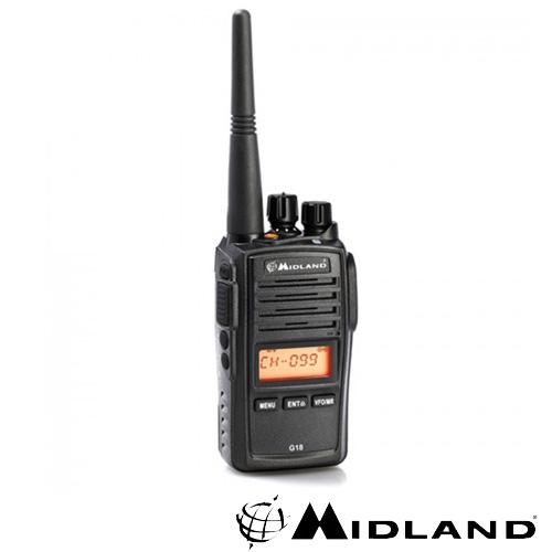 STATIE RADIO PMR MIDLAND G18