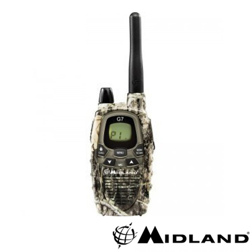 STATIE RADIO PMR MIDLAND G7 SINGLE MIMETIC
