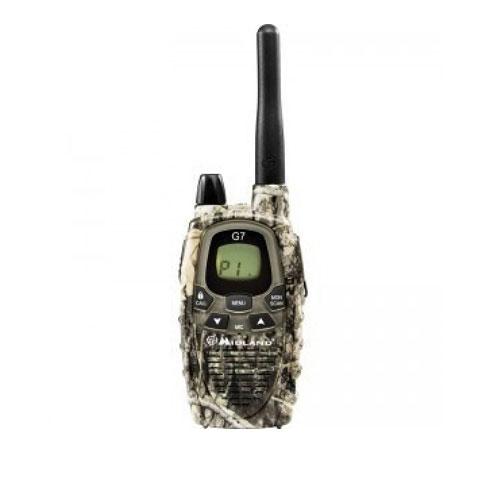 Statie radio PMR Midland G7 single MIMETIC C776.13, 446 MHz, 8 canale PMR + 69 preprogramate imagine spy-shop.ro 2021