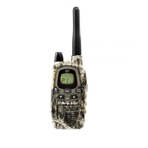 Statie radio PMR Midland G7 XTR Single Mimetic C926.04, 446 MHz, autonomie 18 ore imagine spy-shop.ro 2021