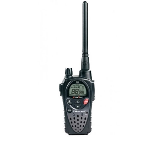 Statie radio PMR Midland G9 C923, 434 MHz, 8 canale PMR + 16 preprogramate imagine spy-shop.ro 2021
