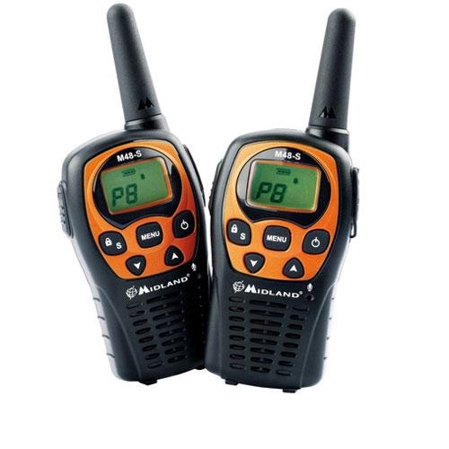 Statie radio PMR Midland M48-S C1036, 446 MHz, 8 canale PMR + 40 preprogramate imagine spy-shop.ro 2021