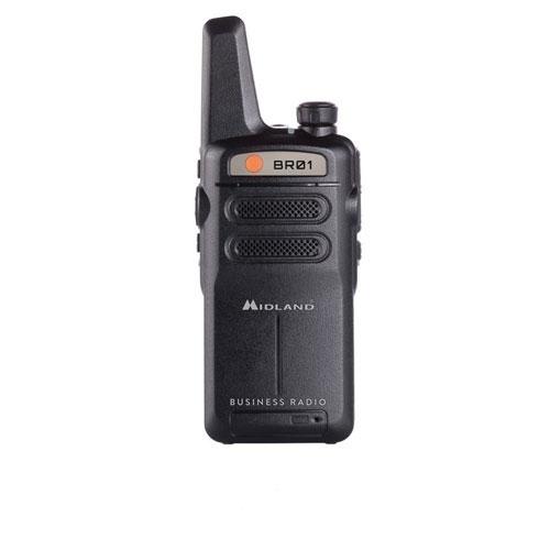 Statie radio PMR portabila Midland BR01 C1315, 446 MHz, 16 canale imagine spy-shop.ro 2021