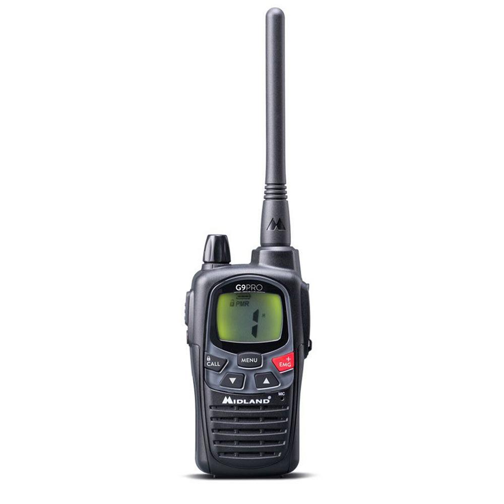 Statie radio PMR portabila Midland G9 Pro C1385, activare vocala imagine spy-shop.ro 2021