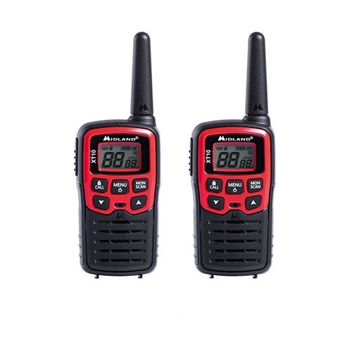 Statie radio PMR portabila Midland XT10 C1176, 446 MHz, 16 canale imagine spy-shop.ro 2021