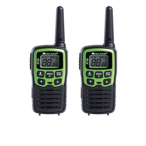 Statie radio PMR portabila Midland XT30 C1177, 446 MHz, 16 canale imagine spy-shop.ro 2021