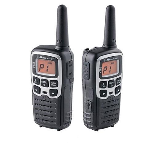 Statie radio PMR portabila Midland XT50 C1178, 446 MHz, 24 canale, distanta de lucru 8 km imagine spy-shop.ro 2021