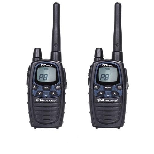 Statie radio PMR/LPD portabila Midland G7 PRO model 2017 C1090.06 imagine spy-shop.ro 2021