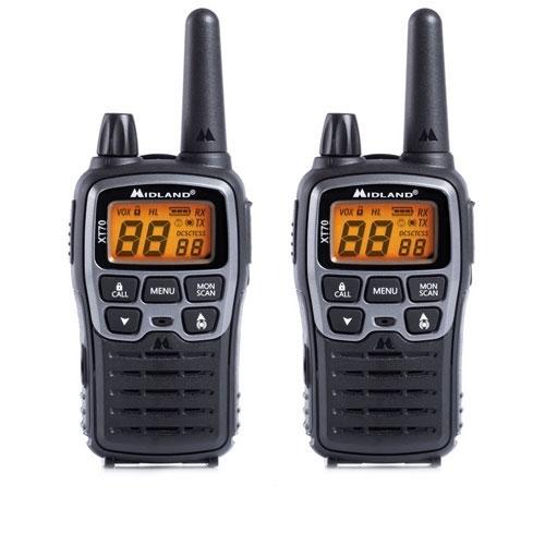 Statie radio PMR/LPD portabila Midland XT70 C1180, 446 MHz, 69 canale LPD + 24 canale PMR imagine spy-shop.ro 2021