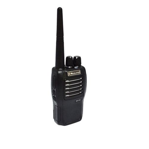 Statie radio UHF Midland G11V C966.04, 446 MHz, 8 canale PMR + 8 preprogramate imagine spy-shop.ro 2021