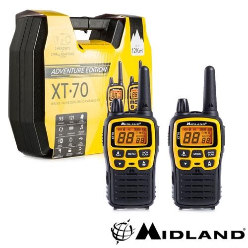 STATIE RADIO PMR/LPD PORTABILA MIDLAND XT70 ADVENTURE