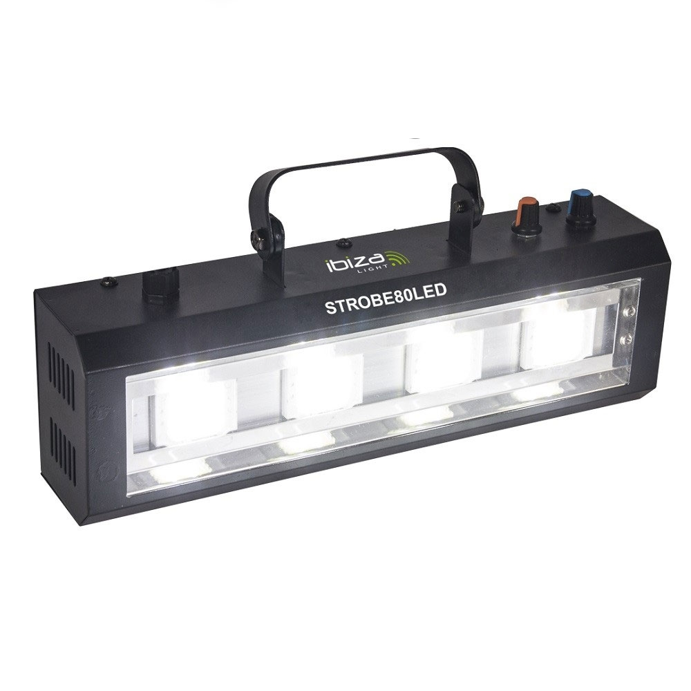 Stroboscop alb 4 LED-uri STROBE80LED imagine spy-shop.ro 2021