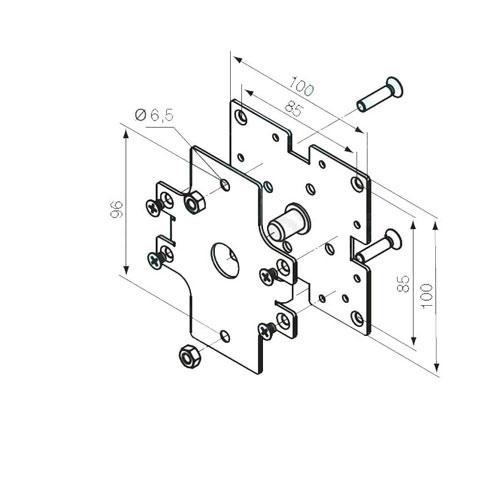 Suport capete caseta Nice 525.10054 imagine spy-shop.ro 2021