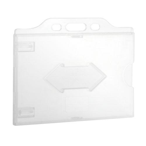 Suport ecuson CH-026H, PVC, rezistent la indoire, prindere orizontala imagine