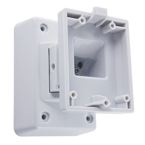 Suport pentru detector Pyronix XD-WALLBRACKET, articulatie, policarbonat, perete imagine spy-shop.ro 2021