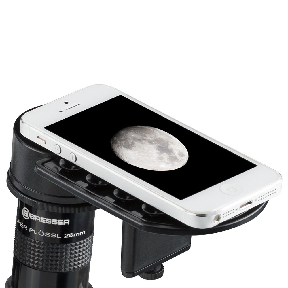 Suport smartphone universal Bresser Deluxe 4914914 imagine spy-shop.ro 2021