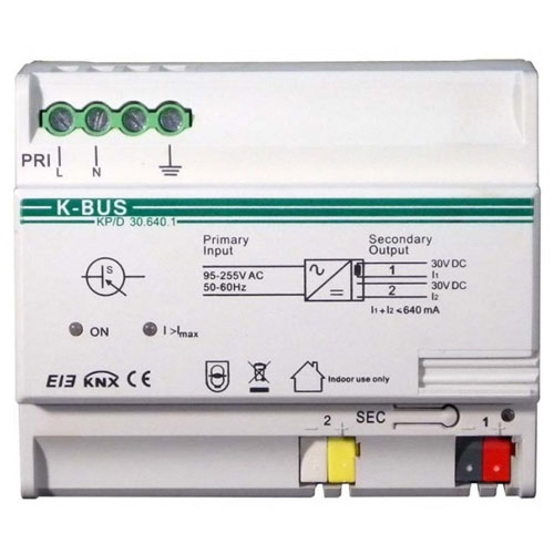 Sursa alimentare BUS KP/D30.640.1, protectie scurtcircuit, indicator supraincarcare, iesire 30Vcc