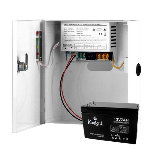 Sursa de alimentare in comutatie GNV GNV-1203B-AC, 1 canal, backup, 3 A, acumulator inclus imagine spy-shop.ro 2021