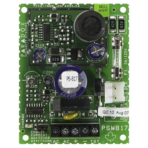 Sursa de alimentare in comutatie Paradox PS817, 13.8 Vdc imagine spy-shop.ro 2021