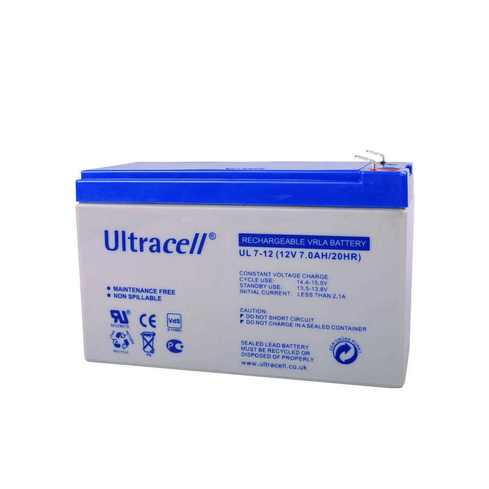Acumulator Ultracell 12V 7 AH imagine spy-shop.ro 2021