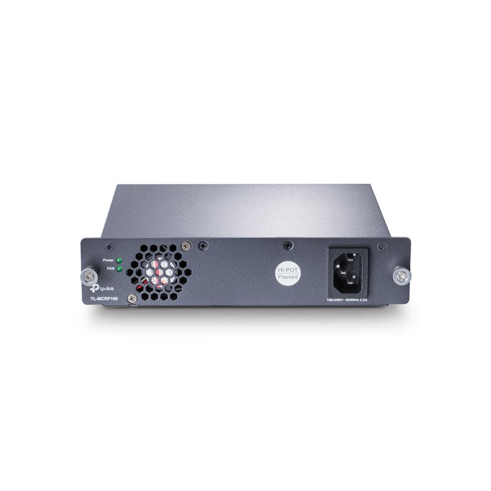 Sursa de alimentare pentru switch-uri TP-Link TL-MCRP100, 100-240V imagine spy-shop.ro 2021