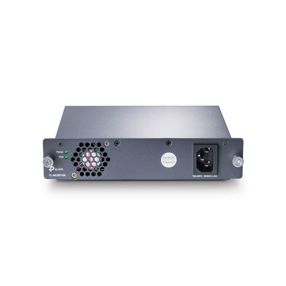 Sursa de alimentare pentru switch-uri TP-Link TL-MCRP100V2, 100-240V