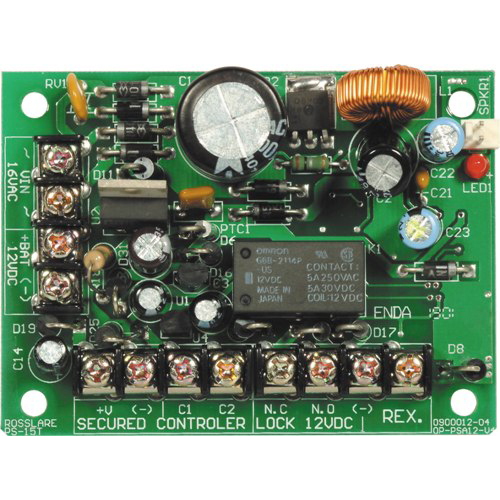 Sursa de alimentare Rosslare PC 15T, 1.5 A, 25 VA, 12 VDC imagine spy-shop.ro 2021