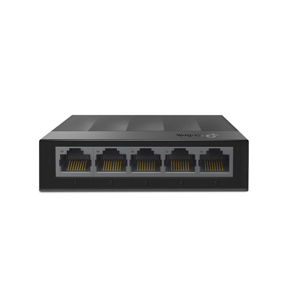 Switch cu 5 porturi TP-Link LS1005G, 2000 MAC, 10 Gbps imagine spy-shop.ro 2021