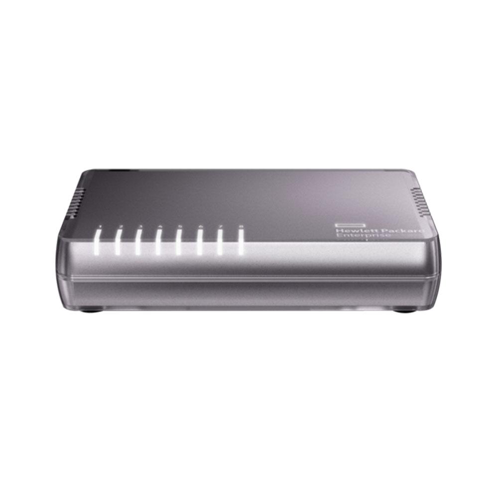 Switch cu 8 porturi Aruba JH408A, 16 Gbps, 11.8 Mpps, 8.000 MAC, fara management