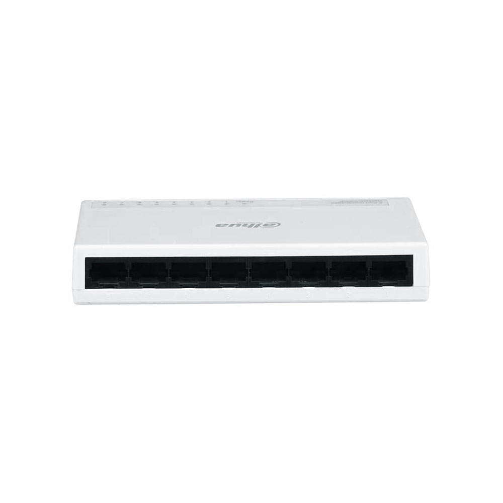 Switch cu 8 porturi Dahua PFS3008-8ET-L, 1000 MAC, 1.6 Gbps, fara management imagine spy-shop.ro 2021